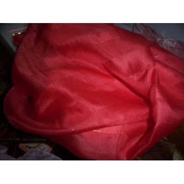 "Silk fabric[Chilli red colour] 42"" wide sold by the yard"