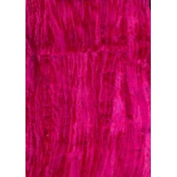 fuschia pink crushed velvet 44""