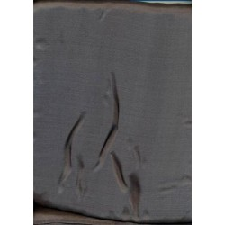 Evening grey colour plain habotai silk 44""