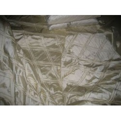silk dupioni pintucked duvet cover~custom order
