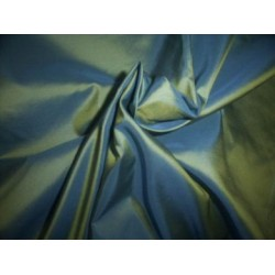 "silk taffeta iridescent blue/lemon~princess54"" TAF61[3]"
