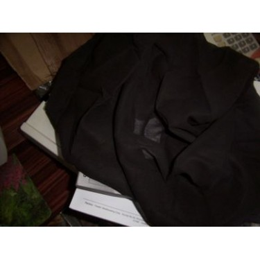 "100% 2 x 2 cotton voile 58""~black"