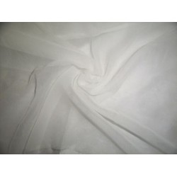 white silk chiffon -40 gram{11 mm}