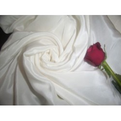 21 momme{80 grams}silk crepe-rich ivory