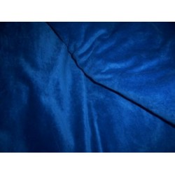 "cotton velvet 44""~true rich blue"
