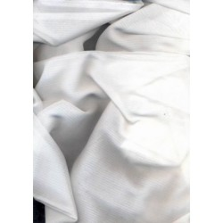white cotton voile 3 mm stripe-br/3mm