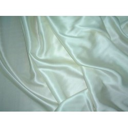 "100% pure Silk Satin fabric 44""-light ivory"
