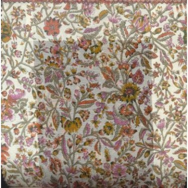"silk chiffon floral print 44"" wide sold by the yard"