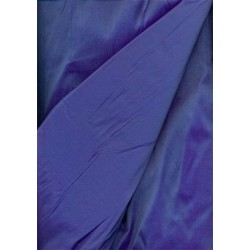 silk dupioni rich & gorgeous blue / purple shot colour DUP54