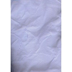 "Exclusive silks~ Taffeta pin stripe 54""-rich blue"
