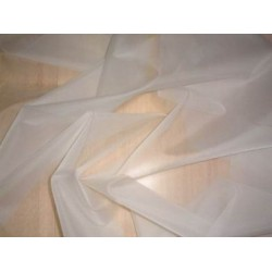 "natural{off white}silk organza fabric 44"" wide*"