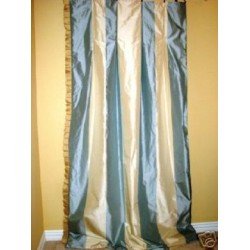 NEW Custom Silk Drapery Panels Curtains INTERLINED