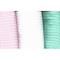 cotton organdy 8 mm stiched pleats~21