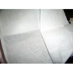 """White 100% cotton organdy fabric 44"""" wide sold by the yard"""
