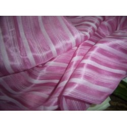Silk satin stipe fabric 44