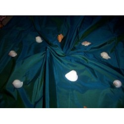 silk taffeta iridescent green/blue~princess