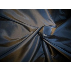"silk taffeta iridescent chestnut brown/blue~princess 54"" TAF 57[2]"