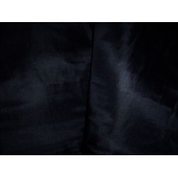 Jet black plain silk~guchi~54""
