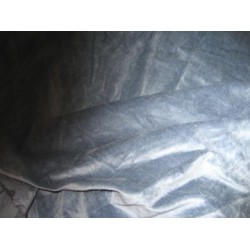 "frost grey cotton velvet 44"" wide"