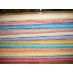 cotton organdy self plaids-12 colours