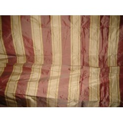 "silk taffeta awesome wine stripes 54"" wide sold by the yard"