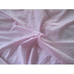 baby pink silk pure brocade~small paisleys