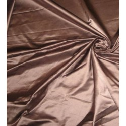 Dark Taupe colour Silk Dutchess Satin 58