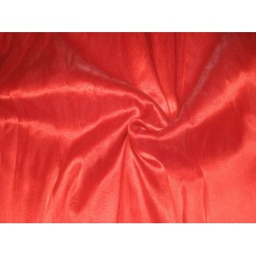 Christmas Red Silk Organza ~44""