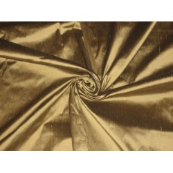 "Acorn Gold Colour silk dupioni silk ~54"" wide"