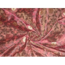 Candy Pink ,Motif Color Metallic Gold & pink  floral