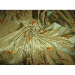 Extremely high quality silk dupioni silk 54
