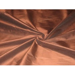 Bark Brown colour  silk dupioni silk 54