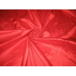 Christmas Red colour silk dupioni silk 54
