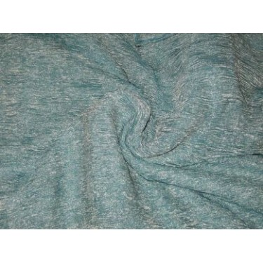 36 INCHES WIDE~ GOLD Sea blue silk mettalic tissue organza fabric