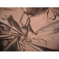 "Dark Chocolate Brown~silk dupioni 54"" wide"