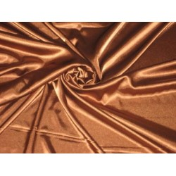 Copper colour Polyester fabric~Stretchable~Width 58