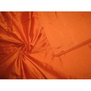 "Silk Dupioni fabric 54""-Mandrin Orange"