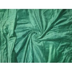 "cotton velvet 44""~emerald green"