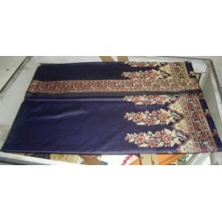 Indian saris with jacquard borders