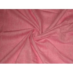 Candy Pink Chambray linen~58