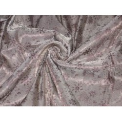 Silk Brocade ~Light Grey & Lavender colour~44