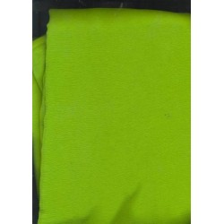 Avocado green ~100% silk chiffon fabric 44 inches