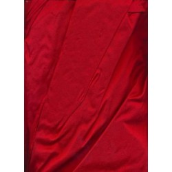 "Blood red Silk Dupioni  fabric 54"" wide dup66"