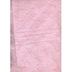 cotton organdy chocolate pintuck-pink