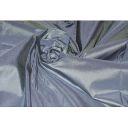 "SILK TAFFETA FABRIC 54""~Cloudy Blue colour TAF38[1]"