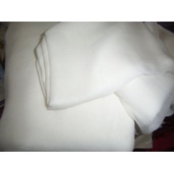 "Silk georgette 44"" wide~ light ivory-16 mm weight"