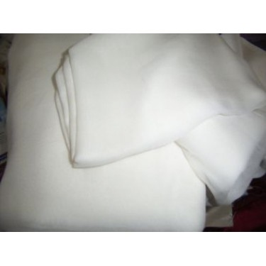 "Silk Double Georgette Fabric 44"" wide~ light ivory*"