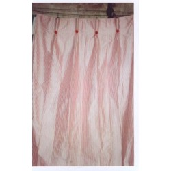dupioni pinstripes{4 mm wide}drapes