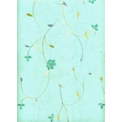 cotton organdy embroidery~light sea green