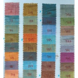 two tone linen{iridescent} in 32 colours